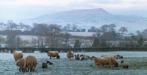 Skirrid in Winter